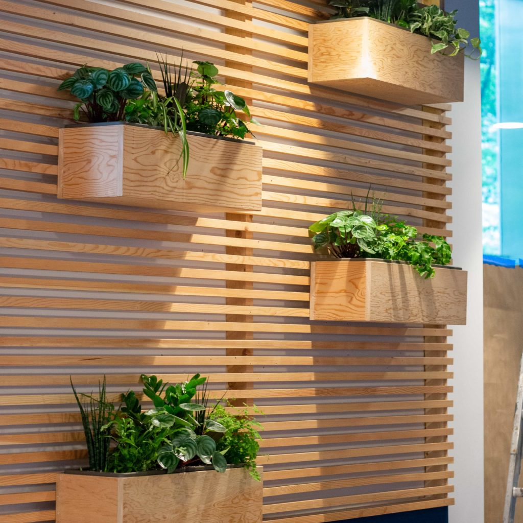Planters at Pallet Howe