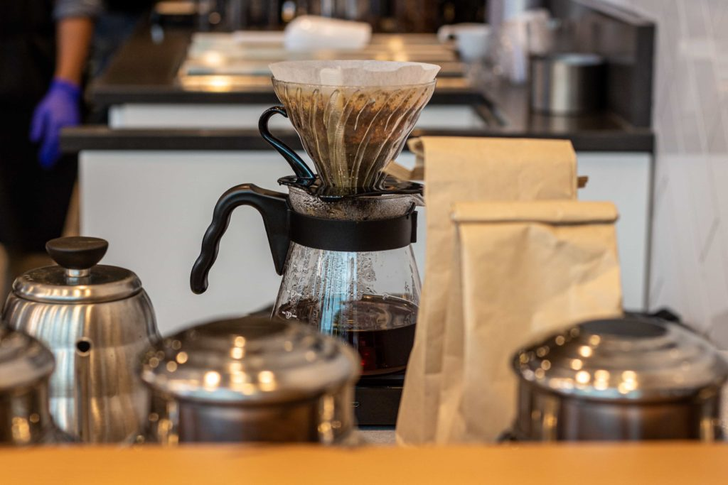 Pour Over at Pallet Coffee Roasters (Downtown)