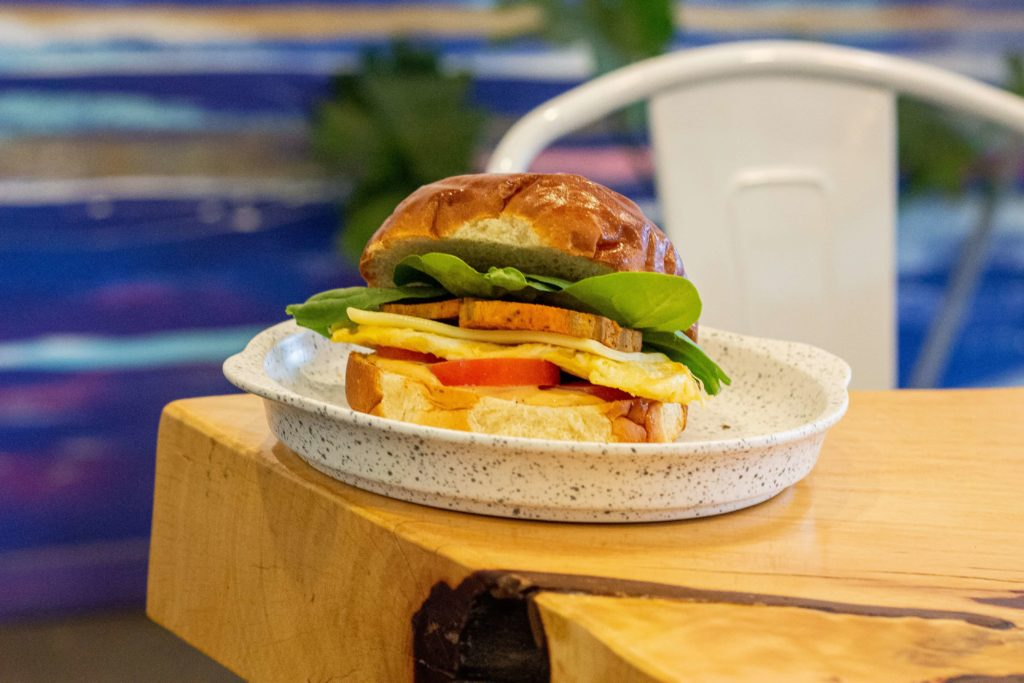 Breakfast Sandwich at Olive and Ruby in the list of the Top 10 Best Coffee Shops for Brunch in Vancouver 2019