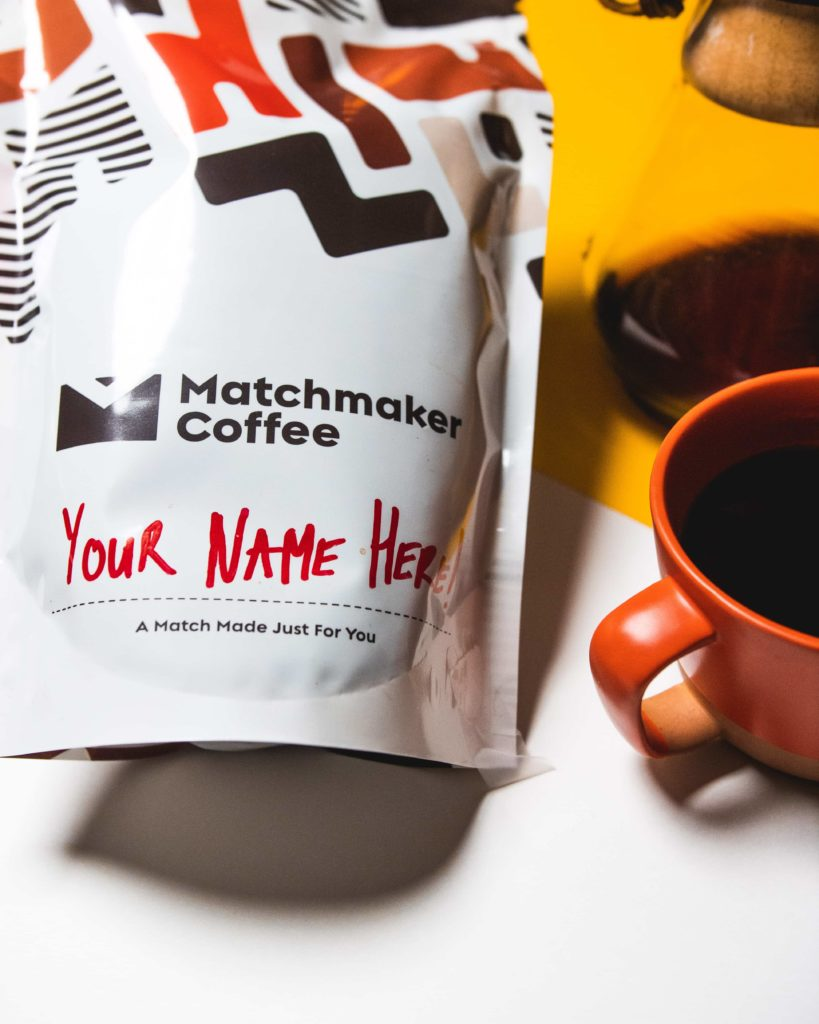 Matchmaker bag and cups